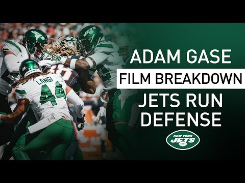 Adam Gase Film Breakdown: Why Jets Run Defense Has Excelled | New York Jets | NFL