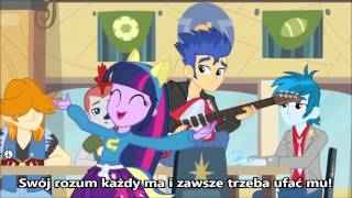 [PL KARAOKE] My Little Pony: Equestria Girls - Helping Twilight Win the Crown