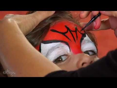 How To Do Spiderman Face Paint for Kids