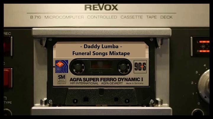 daddy lumba funeral songs  cassette mixtape part 1