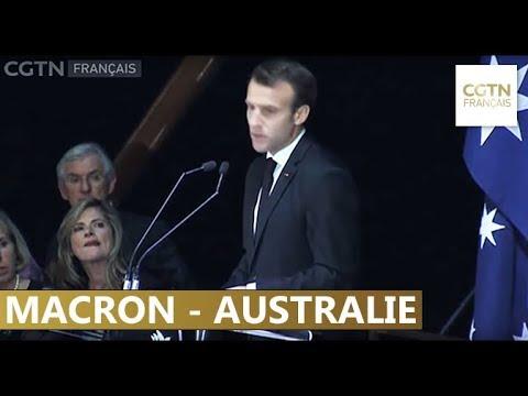 Macron et Turnbull discutent de commerce et de défense