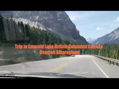 Trip to Emerald Lake British Columbia Canada