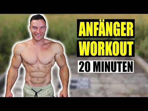 20 Minuten Ganzkörper Anfänger Workout Für Zuhause | Ohne Equipment - Sascha Huber