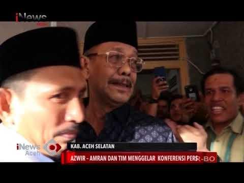 Hasil Quick Count Pilkada Aceh Selatan | INews 29/06/2018
