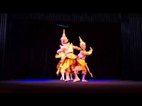 Cultural show at Karaweik Palace, Yangon, Myanmar