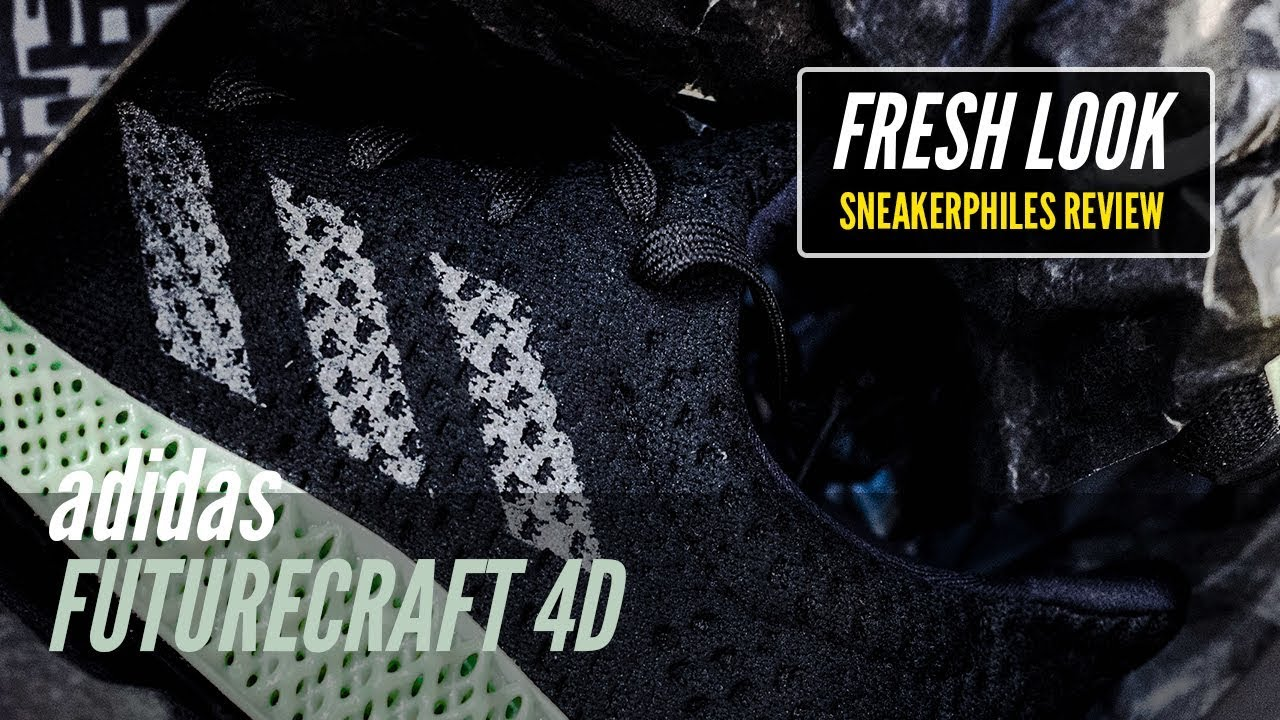 new styles d22f1 771ff adidas FUTURECRAFT 4D RUNNER - REVIEW and DETAILED LOOK