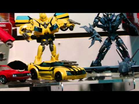 Transformers Prime Robots in Disguise Main Line: Deluxe Class - Toy Fair 2012