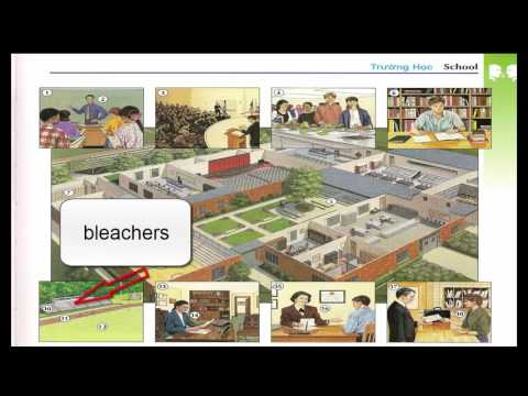 Oxford dictionary | Lesson 3 : School | Learn English | Oxford picture dictionary