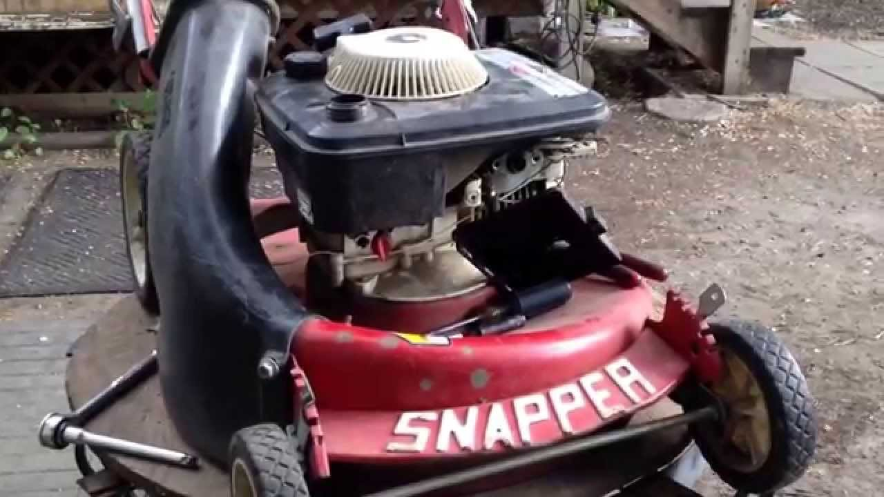 Old Snapper Tractor Wiring Harness Mower Crusher Rescue Tune Up Tips And Advise Youtube 1280x720