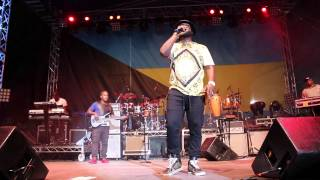 Bunji Garlin & Fay Ann Lyons performance at Bahamas Junkanoo Carnival 2015