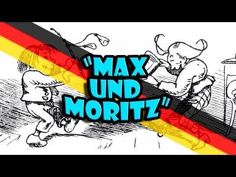 German Stories Read Slowly | Max und Moritz: Der vierte Streich -Wilhelm Busch | Get Germanized |#7