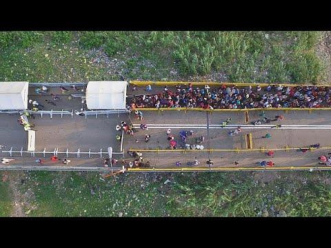 El éxodo venezolano busca un refugio en Cúcuta