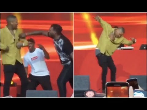 Fans Make YG Do Blood Dance On Stage Crowd Goes Wild