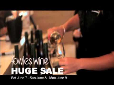 Fowles Wine Queen's Birthday Huge Wine Sale 2014