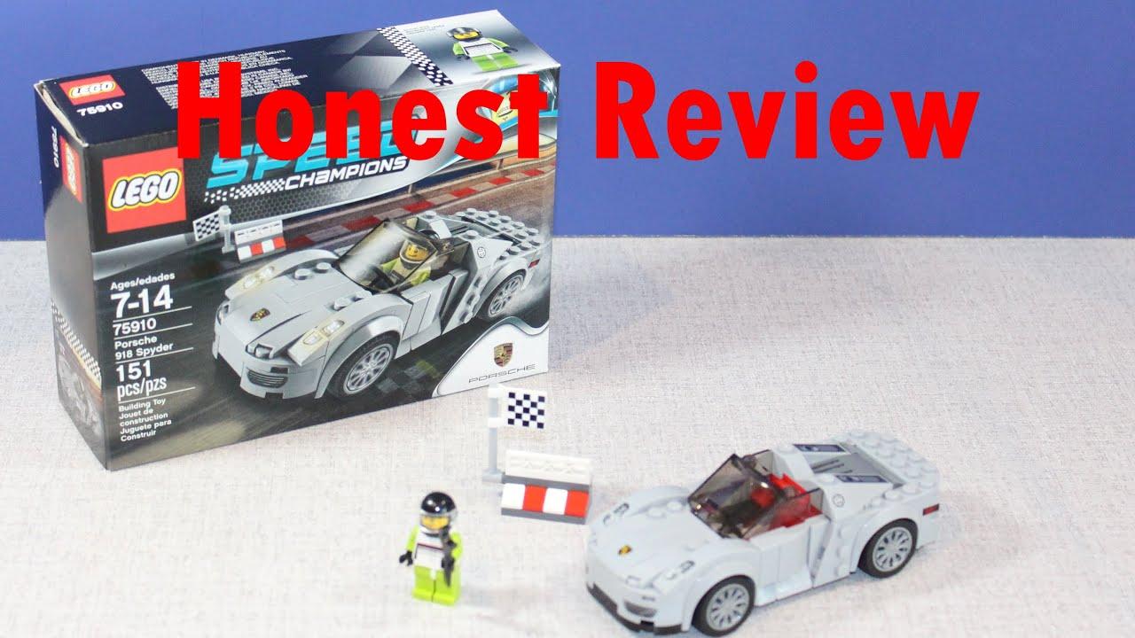 honest review lego speed champions porsche 918 spyder set 75910 youtube. Black Bedroom Furniture Sets. Home Design Ideas