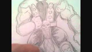 Mortal Kombat Scorpion Practice Drawing