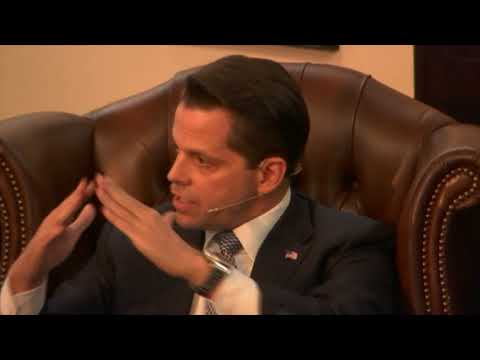 Anthony Scaramucci Full Q&A @ Cambridge Union