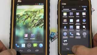обзор смартфонов Runbo X6 и Q5