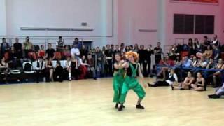 Чемпионат России по ДФ 2010 - ШОУ - Малыш и Карлсон
