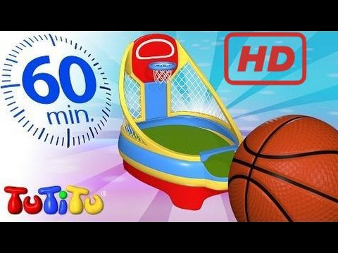 School for Kids |  TuTiTu Specials | Basketball | And Other Learning Toys | 1 HOUR Special