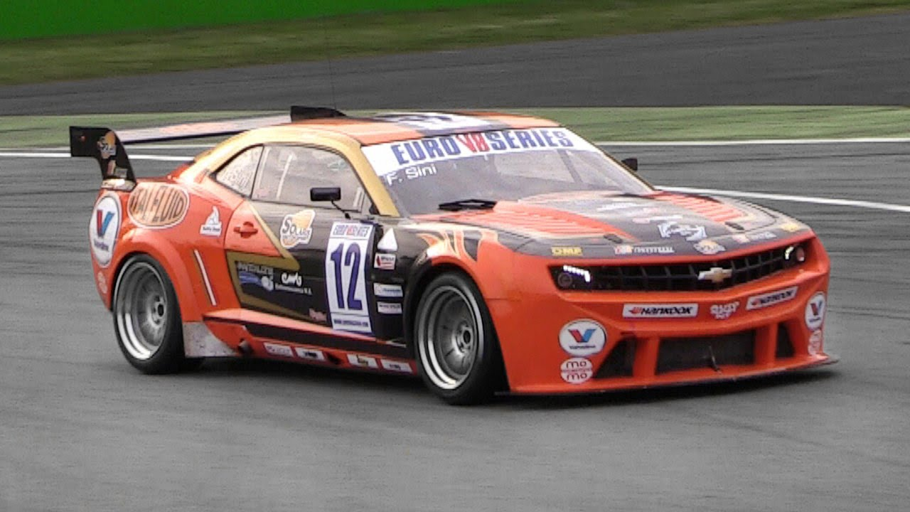 Solaris Motorsport\' Chevy Camaro EuroV8 Series Race Car - LS3 ...