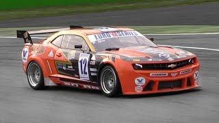 Solaris Motorsport' Chevy Camaro EuroV8 Series Race Car - LS3 Engine Sound