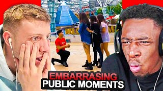 SIDEMEN REACT TO EMBARRASING PUBLIC MOMENTS
