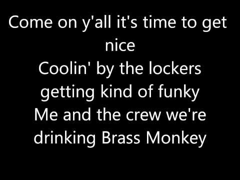 Beastie Boys- Brass Monkey Lyrics