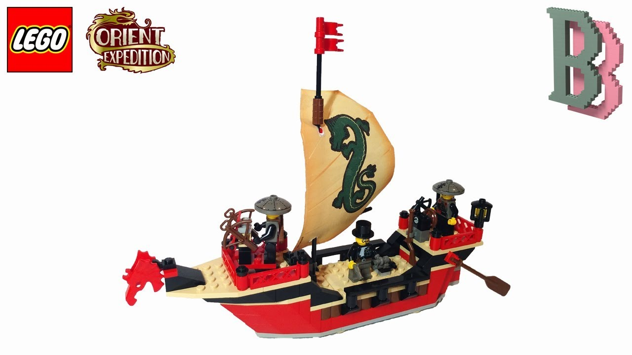 NEW LEGO 7416 Orient Expedition Emperor/'s Ship