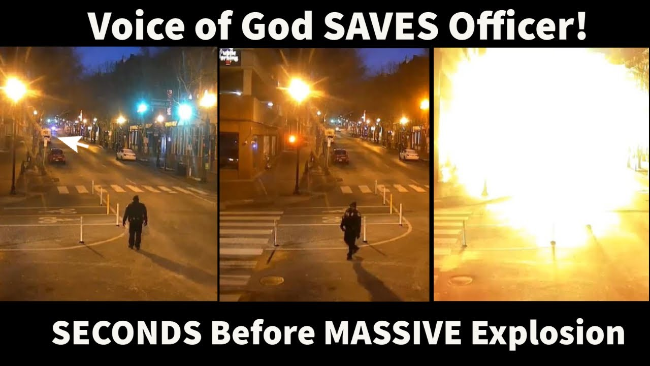 MIRACLE: See the Exact Moment Nashville Cop Hears Voice of God and Turns Around SECONDS Before Blast