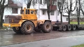 Прыгающий Кировец / Jumping Truck