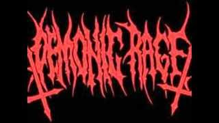 demonic rage - desecreating the false divinity.