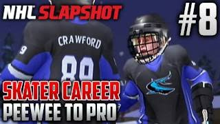 NHL Slapshot (Wii) | Peewee to Pro (Skater Career) | EP8 | LAST GAME OF THE BANTAM REGULAR SEASON