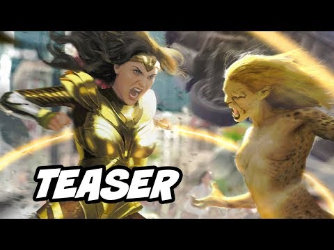 Wonder Woman 1984 Teaser And Comic Con Trailer Footage Breakdown