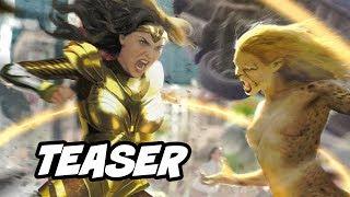 Wonder Woman 1984 Teaser and Comic Con Trailer Footage Breakdown