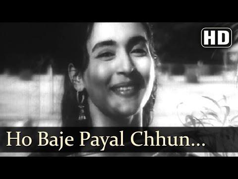 Ho Baje Payal Chun Chun- Rehman - Nutan - Chhalia - Lata Mangeshkar - Evergreen Hindi Songs