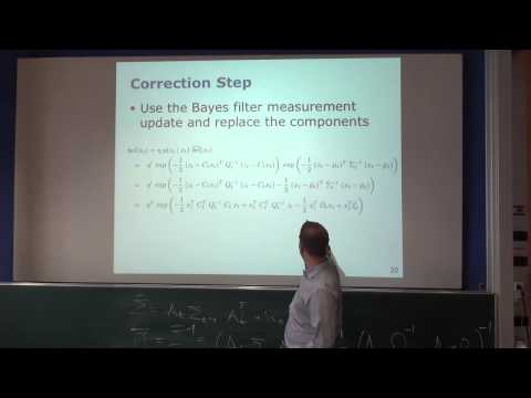 SLAM Course - 07 - Extended Information Filter (2013/14; Cyrill Stachniss)