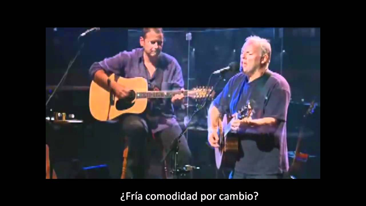 Wish You Were Here Pink Floyd Traducida Al Español Youtube