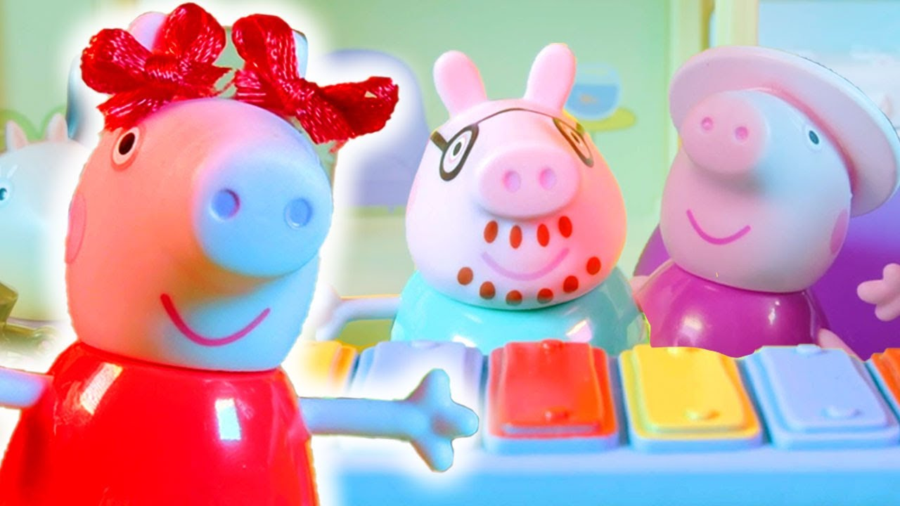 Peppa Pig Official Channel | Peppa Pig's Music Party at Home