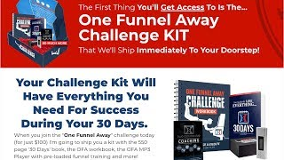 What You Get with The ClickFunnels 1 Funnel Away Challenge