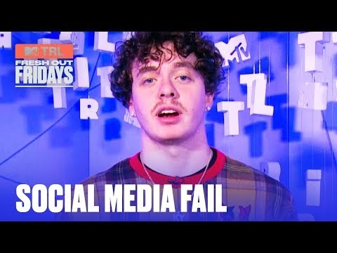 Jack Harlow Reveals His Most Cringeworthy Post EVER   #MTVFreshOut
