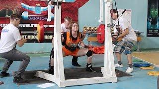 "Julia Vins -Total 1000 lbs - Powerlifting Meet ""Iron Bull"" 22.3 2015"