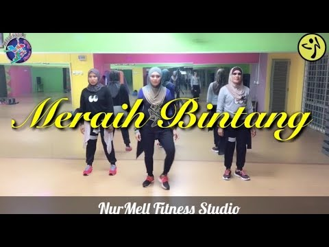 Zumba MERAIH BINTANG (Official Theme Song Asian Games 2018) By Via Vallen With Zin Nurul