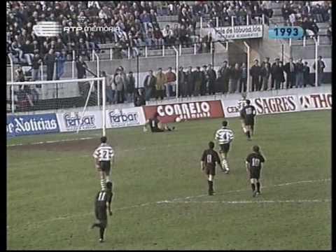 18J :: Tirsense - 0 x Sporting - 1 de 1992/1993