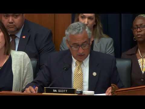Ranking Member Scott Questions Secretary DeVos on Closing the Achievement Gap