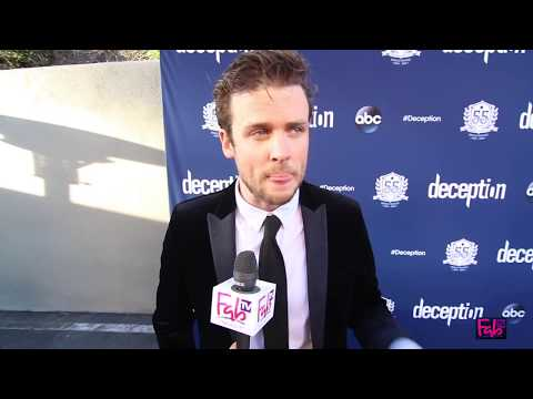 Jack Cutmore Scott at the 'Deception' red carpet Magic Castle