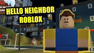 HELLO NEIGHBOR ROBLOX MAP - Neighbor Move to the BIG CITY