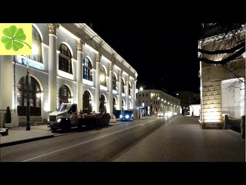 Москва. Вечерняя прогулка по улице Варварка ( Varvarka Street) 22.11.2019