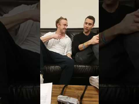 Tom Felton & Matthew Lewis Facebook Live Q&A  A Celebration of Harry Potter 2017