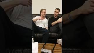 Tom Felton & Matthew Lewis Facebook Live Q&A   A Celebration of Harry Potter 2017